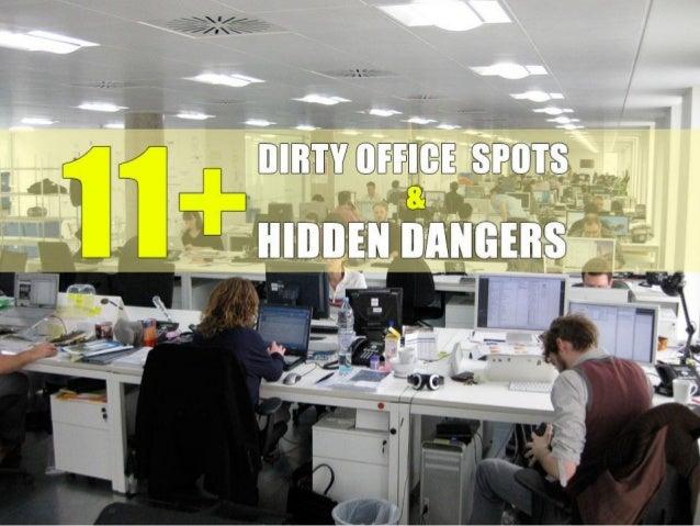 11+ Dirty Office Spots and Hidden Dangers