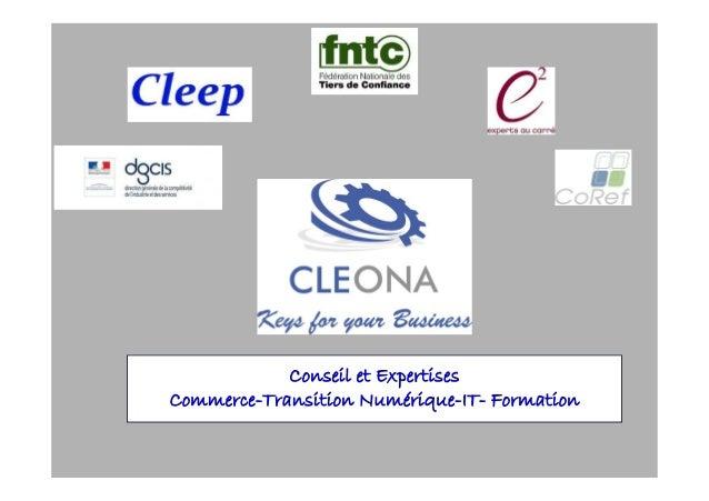 Conseil et Expertises Commerce-Transition Numérique-IT- Formation