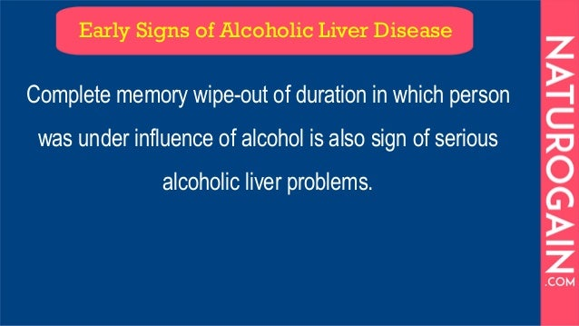 11 Early Signs of Alcoholic Liver Disease