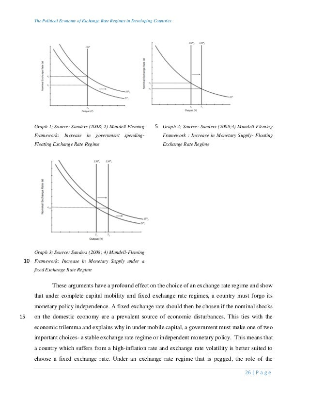 mundell-fleming thesis Rather than looking at high-frequency data, the objective of this thesis is to investi gate the empirical factors underlying medium- and long-term exchange rate move ments an important hypothesis is that flow variables—such as trade and capital flows—play a significantly larger role for exchange rates in the real world than.