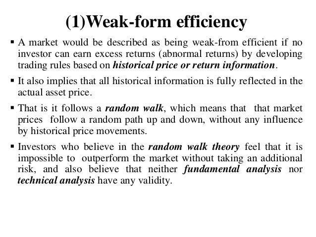 Efficient Market Hypothesis (EMH) and Insider Trading