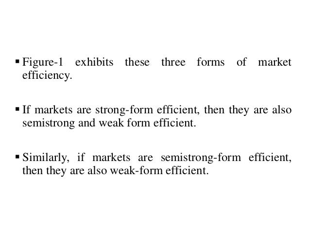 the importance of efficient market hypothesis emh in finance Market efficient versus behavioural finance, journal  strong relation to the efficient market hypothesis (emh),  the importance of alternative.