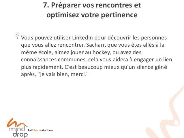 LinkedIn utilisé comme site de rencontre