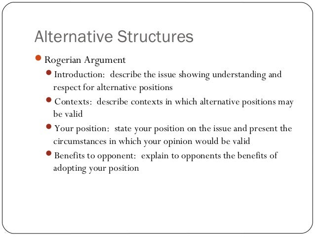 English 104: Structuring Your Essay