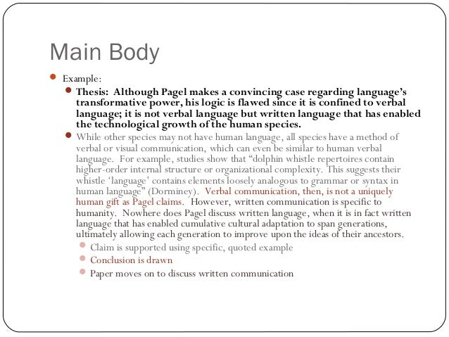 body essay examples - Selom.digitalsite.co