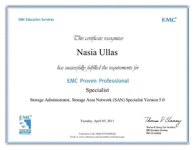 Storage Administrator Storage Area Network San Specialist Version