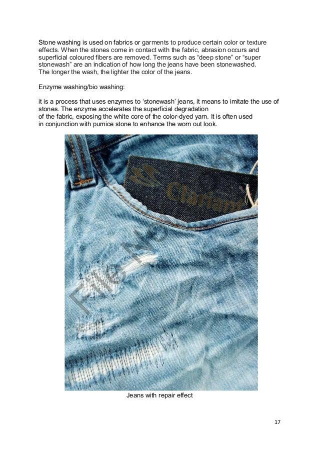 Finishing Process On Denim Fabric Deepak
