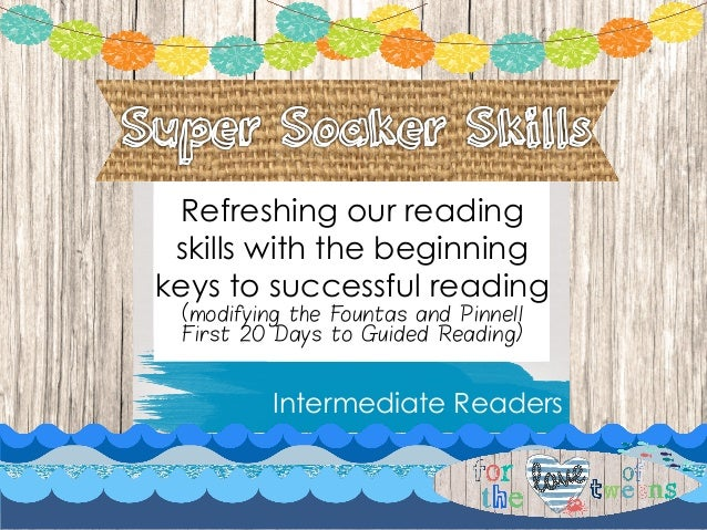 11 Thinking Is Reading Intermediate Lessons