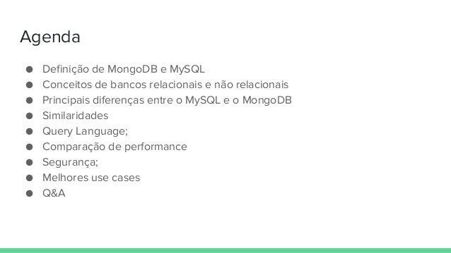 SQL e NoSQL trabalhando juntos: uma comparação para obter o melhor de ambos - Adamo Tonete Slide 2