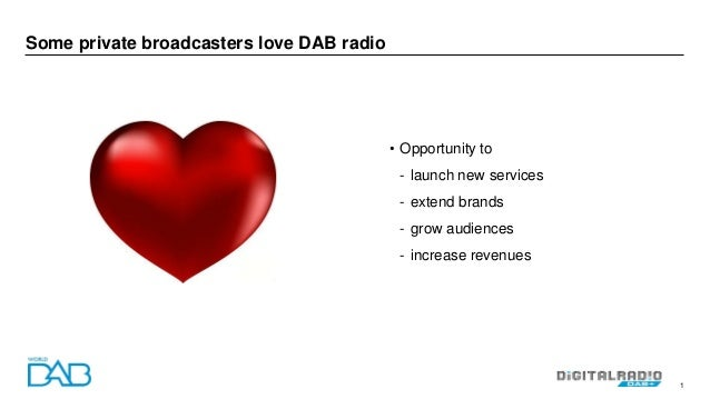 How can we encourage more private broadcasters to embrace DAB? Slide 2