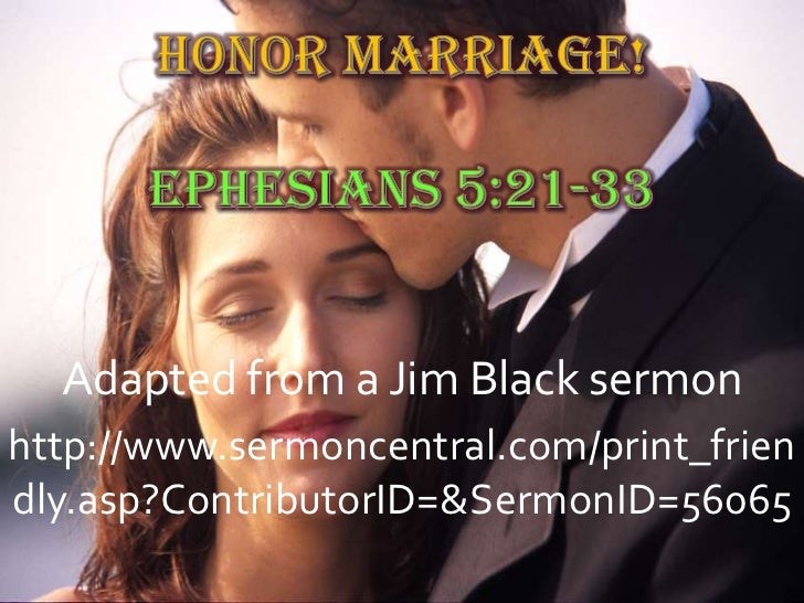 Dating sermon central