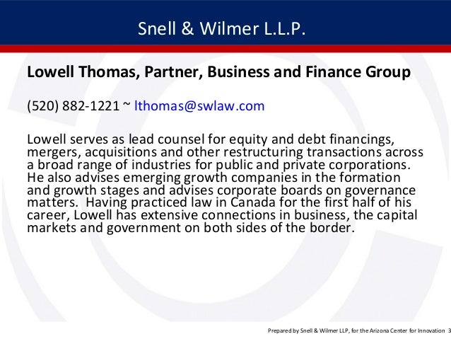 start a new business and other legal considerations by Snell &…