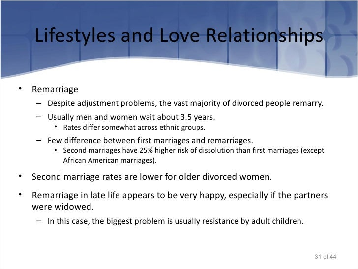 predictors of divorce and relationship dissolution stages