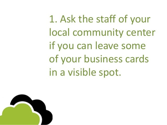 11 ideas you can start using today to distribute your business cards business cards 2 colourmoves