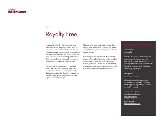 CraftedINFORMATION              2.1              Royalty Free              Images with a Royalty Free license are often   ...