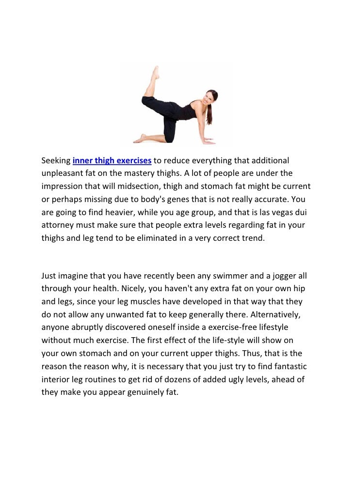 11 inner thigh exercises at home