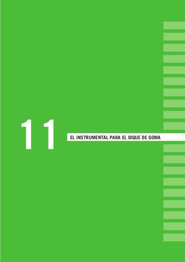 11 EL INSTRUMENTAL PARA EL DIQUE DE GOMA LLIBRE PROCLINIC-OK-corregido.indd 135 6/9/10 16:35:30