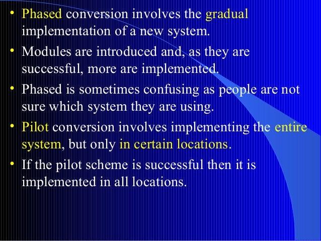 Methods of conversion ipt