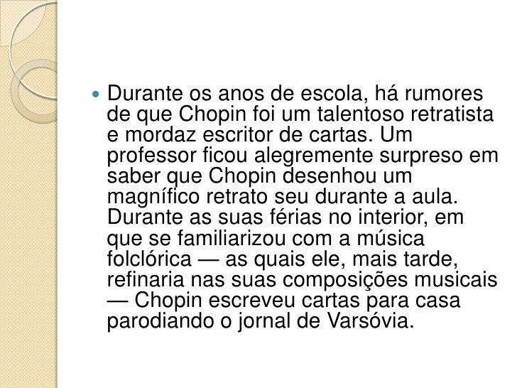 Fr d ric chopin - A casa do retratista ...