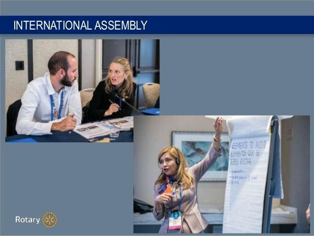 INTERNATIONAL ASSEMBLY