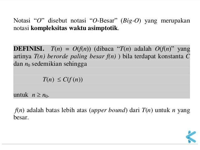 Matematika Diskrit 11 Kompleksitas Algoritma 03
