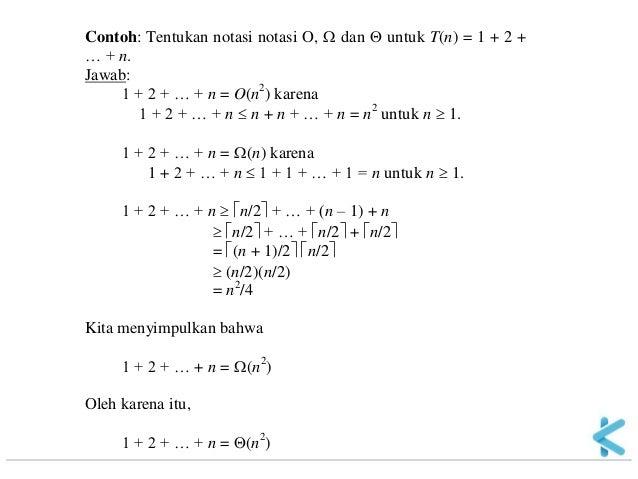 Matematika Diskrit 11 Kompleksitas Algoritma 04