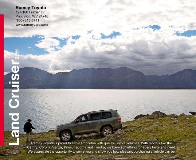2011 Ramey Toyota Landcruiser Princeton Wv