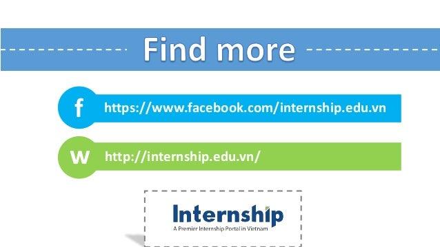 f w http://internship.edu.vn/ https://www.facebook.com/internship.edu.vn