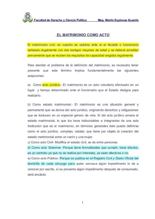 El Matrimonio Romano Monografias : Definicion de matrimonio en derecho civil wars
