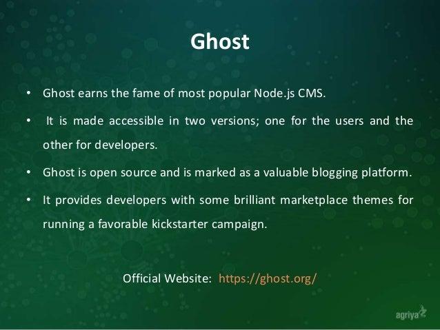 11 Live Node.js CMS Frameworks Slide 3