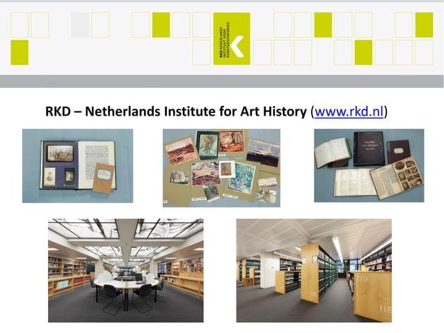 RKD – Netherlands Institute for Art History (www.rkd.nl)