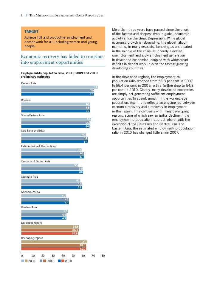 millennium development goals 2000 pdf