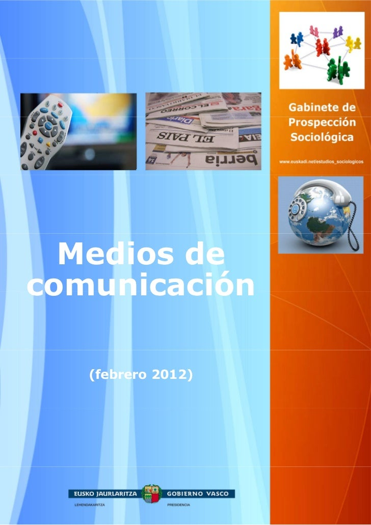 Medios decomunicación   (febrero 2012)