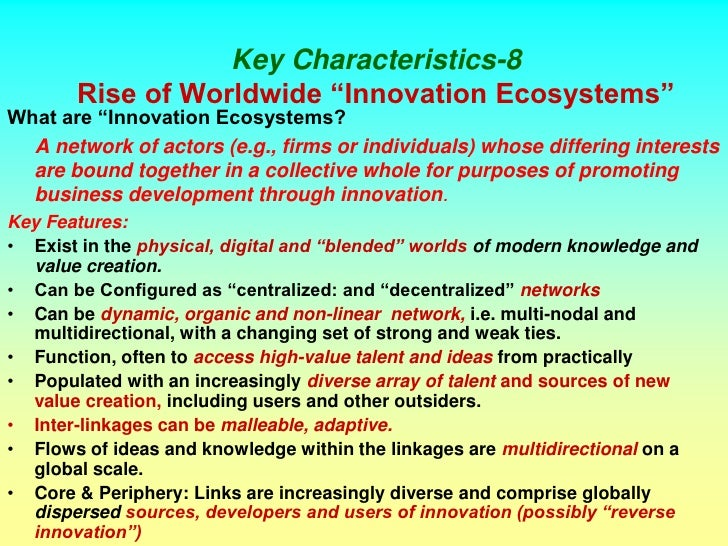 reverse innovation essay In the modern world, innovation has become a need for survival for organizations whether they are.