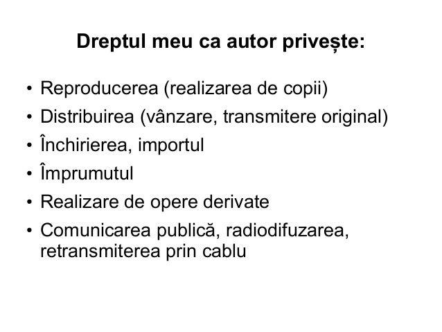 Drepturi de autor în era digitală - 11 octombrie, Sibiu Slide 3