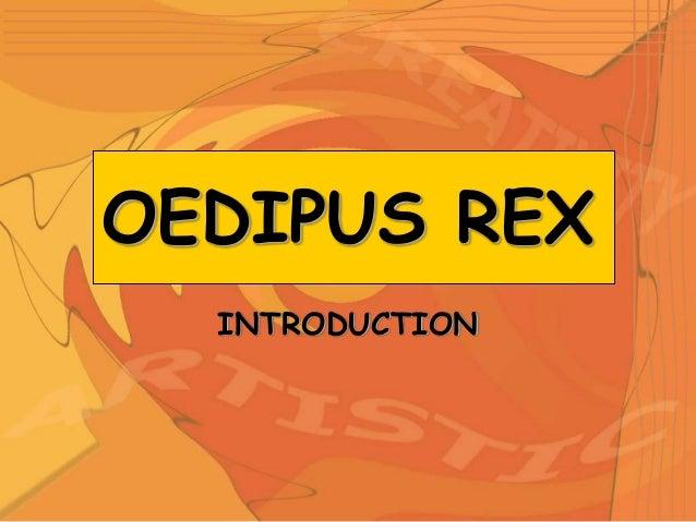 Oedipus Rex Summary
