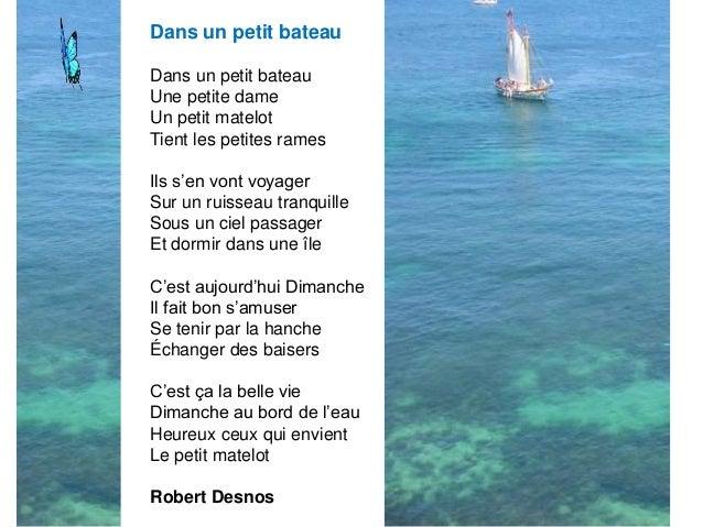 11 po mes sur la mer for Dans un petit bateau