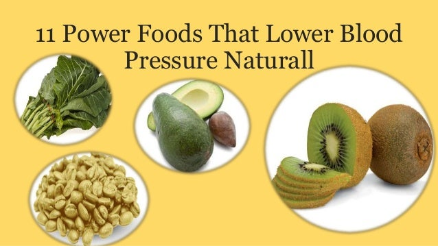 11 power foods that lower blood pressure naturall