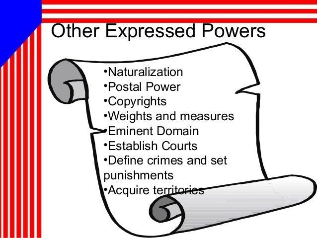 11 powers of congress