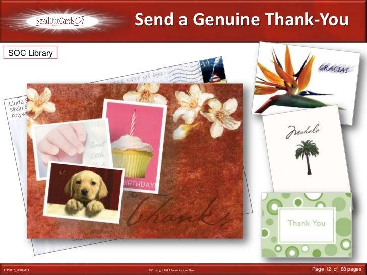 Send a Genuine Thank-You<br />SOC Library<br />Linda Smith<br />Main Street<br />Anywhere, USA<br />Mr. & Mrs. John Smith<...