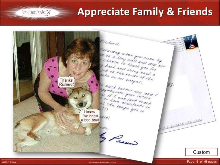 Appreciate Family & Friends<br />Linda Smith<br />Main Street<br />Anywhere, USA<br />Mr. & Mrs. John Smith<br />Main Stre...