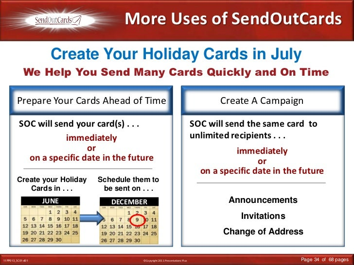 DECEMBER<br />More Uses of SendOutCards<br />We Help You Send Many Cards Quickly and On Time<br />Create Your Holiday Card...