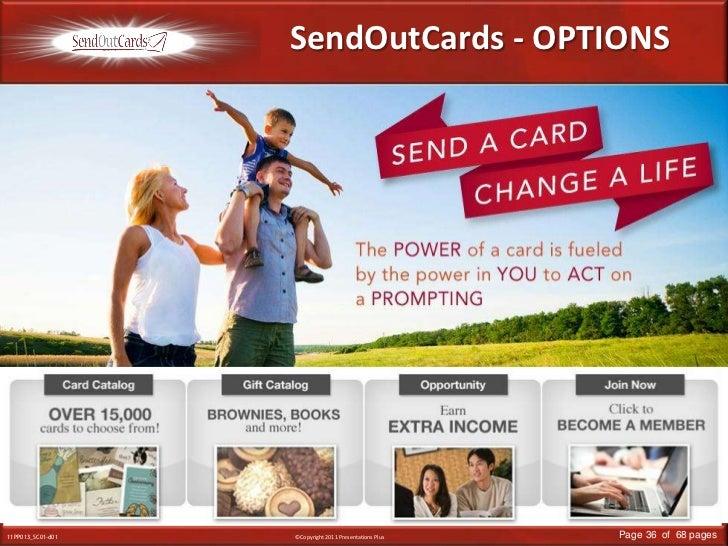 SendOutCards - OPTIONS<br />