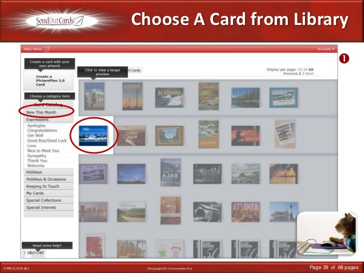 Choose A Card from Library<br /><br />