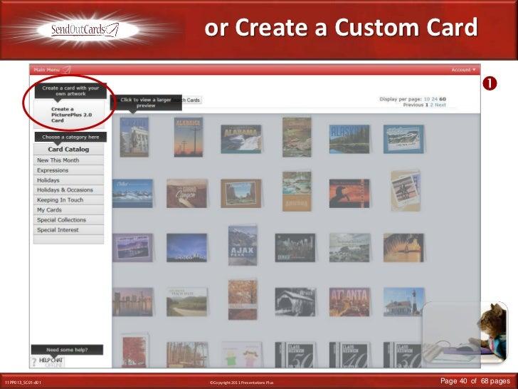 or Create a Custom Card<br /><br />