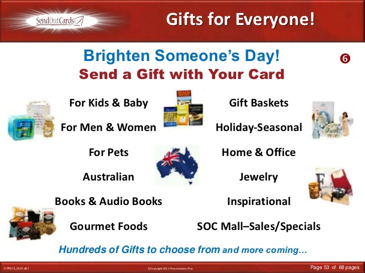 Gifts for Everyone!<br />Brighten Someone's Day!<br /><br />Send a Gift with Your Card<br />For Kids & Baby<br />For Men ...