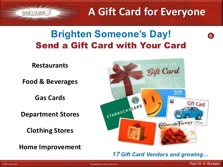 A Gift Card for Everyone<br />Brighten Someone's Day!<br /><br />Send a Gift Card with Your Card<br />Restaurants<br />Fo...