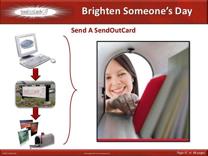 Brighten Someone's Day<br />Send A SendOutCard<br />