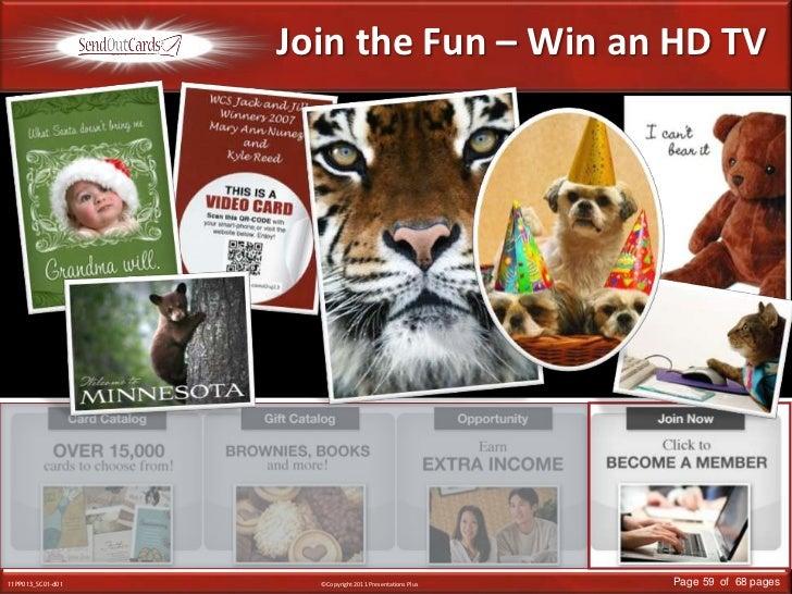 Join the Fun – Win an HD TV<br />