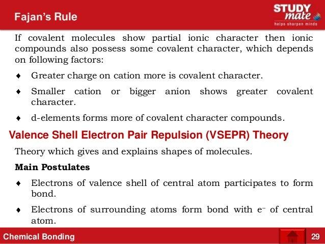 FAJANS RULES PDF